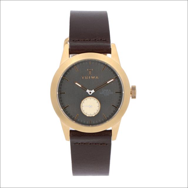 トリワ TRIWA 腕時計 SPST101-CL010413 クォーツ 38mm ASH SPIRA DARK BROWN CLASSIC
