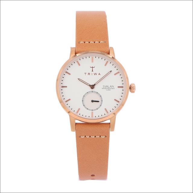 トリワ TRIWA 腕時計 SVST104-SS010614 クォーツ 34mm ROSE SVALAN TAN CLASSIC SUPER SLIM