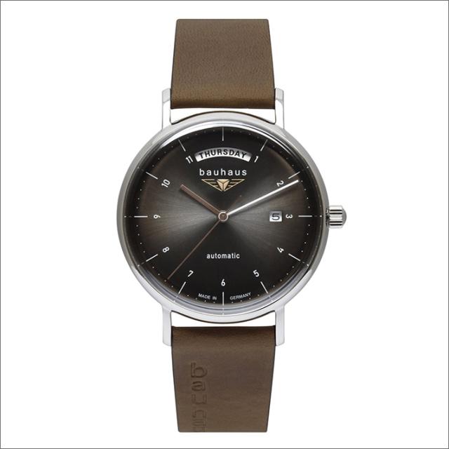 バウハウス BAUHAUS 腕時計 2162-2AT 機械式自動巻 レザーベルト