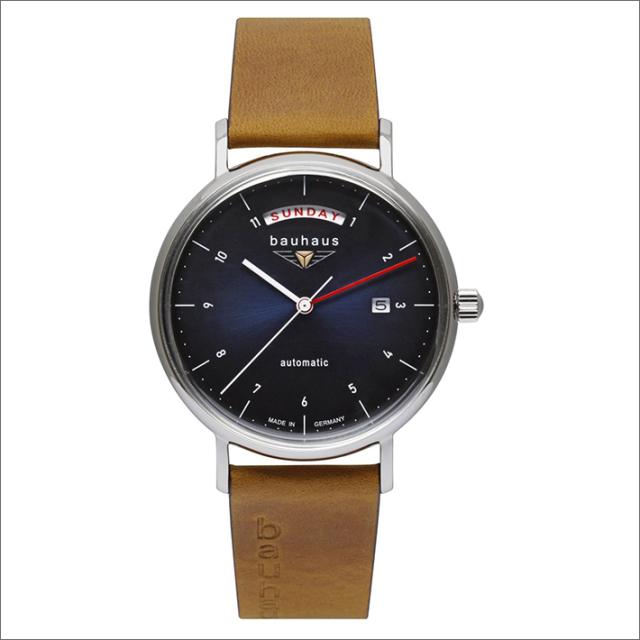 バウハウス BAUHAUS 腕時計 2162-3AT 機械式自動巻 レザーベルト