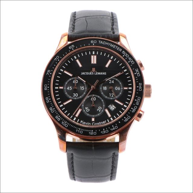 ジャックルマン JACQUES LEMANS 腕時計 11-1586-10 ケビン・コスナー コレクション ローマ 44mm メンズ クォーツ レザーベルト