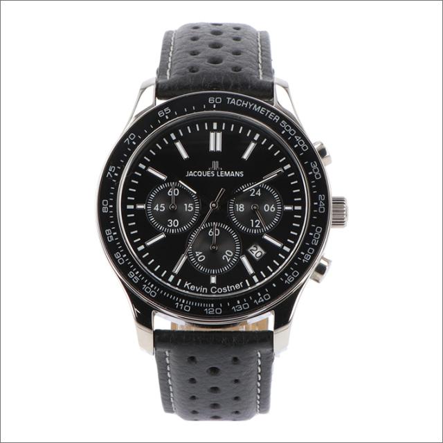 ジャックルマン JACQUES LEMANS 腕時計 11-1586-11 ケビン・コスナー コレクション ローマ 44mm メンズ クォーツ レザーベルト