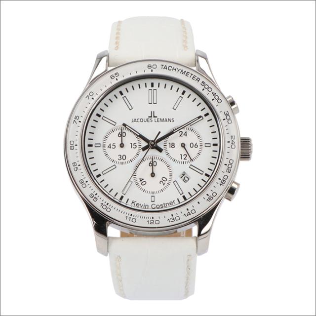 ジャックルマン JACQUES LEMANS 腕時計 11-1586-4 ケビン・コスナー コレクション ローマ 44mm メンズ クォーツ レザーベルト