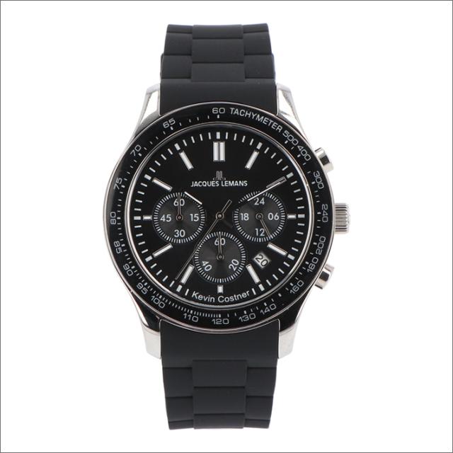 ジャックルマン JACQUES LEMANS 腕時計 11-1586-6 ケビン・コスナー コレクション ローマ 44mm メンズ クォーツ ラバーベルト