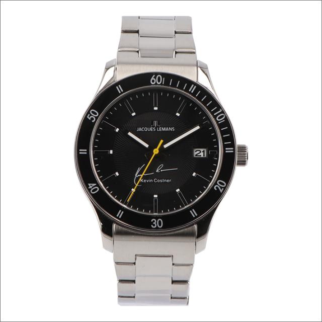 ジャックルマン JACQUES LEMANS 腕時計 11-1622-7 ケビン・コスナー コレクション ローマ 44mm メンズ クォーツ メタルベルト