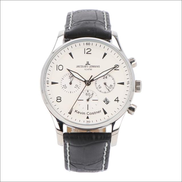 ジャックルマン JACQUES LEMANS 腕時計 11-1654B-1 ケビン・コスナー コレクション ロンドン 40mm メンズ クォーツ レザーベルト