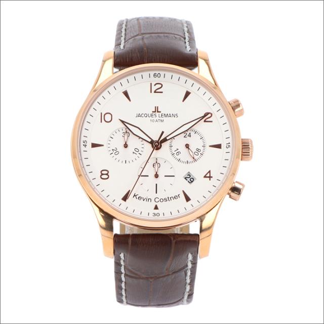 ジャックルマン JACQUES LEMANS 腕時計 11-1654H-1 ケビン・コスナー コレクション ロンドン 40mm メンズ クォーツ レザーベルト