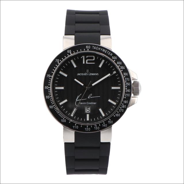 ジャックルマン JACQUES LEMANS 腕時計 11-1695A-1 ケビン・コスナー コレクション ミラノ 42mm メンズ クォーツ ラバーベルト