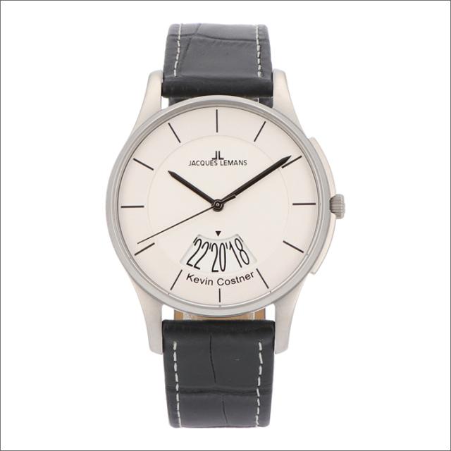 ジャックルマン JACQUES LEMANS 腕時計 11-1746H-1 ケビン・コスナー コレクション ロンドン 40mm メンズ クォーツ レザーベルト