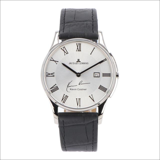 ジャックルマン JACQUES LEMANS 腕時計 11-1777D-1 ケビン・コスナー コレクション ロンドン 38mm メンズ クォーツ レザーベルト