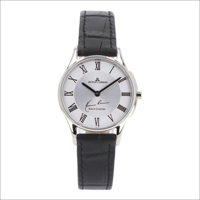 ジャックルマン JACQUES LEMANS 腕時計 11-1778D-1 ケビン・コスナー コレクション ロンドン 28mm レディース クォーツ レザーベルト