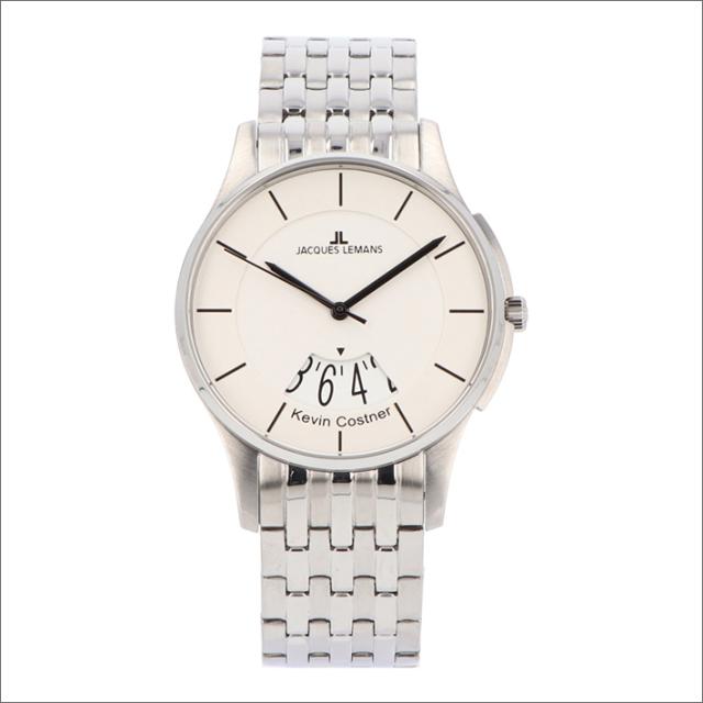 ジャックルマン JACQUES LEMANS 腕時計 11-1821B-1 ケビン・コスナー コレクション ロンドン 42mm メンズ クォーツ メタルベルト