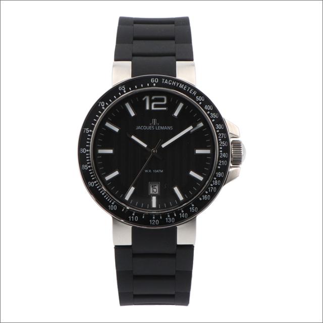 ジャックルマン JACQUES LEMANS 腕時計 1-1695A ミラノ 42mm メンズ クォーツ ラバーベルト