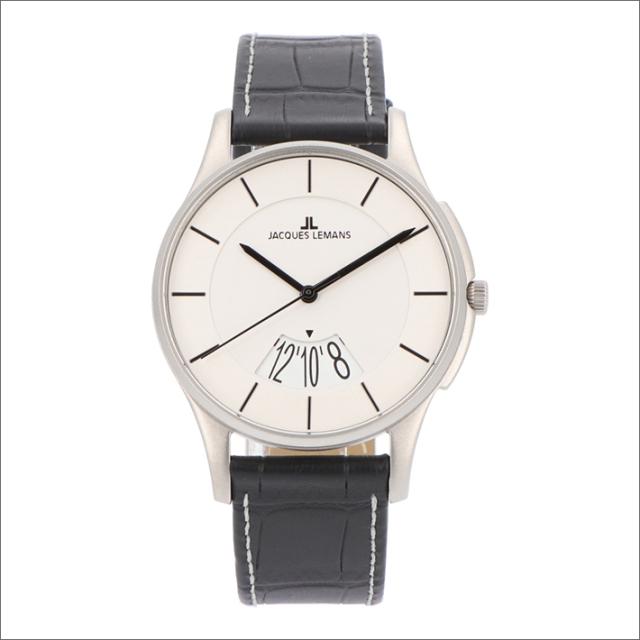 ジャックルマン JACQUES LEMANS 腕時計 1-1746H ロンドン 40mm メンズ クォーツ レザーベルト