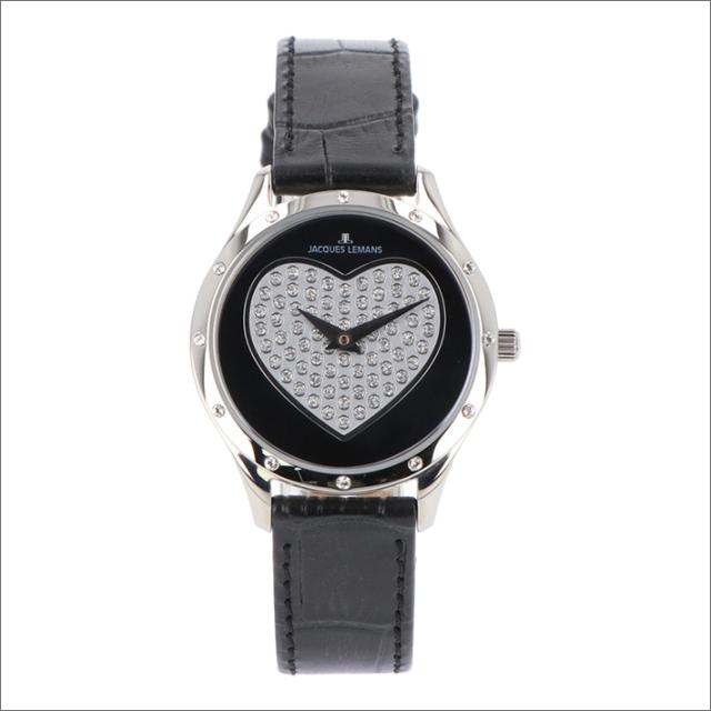 ジャックルマン JACQUES LEMANS 腕時計 1-1803A ローマ ハート 32mm レディース クォーツ レザーベルト