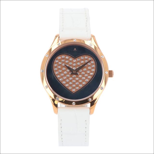 ジャックルマン JACQUES LEMANS 腕時計 1-1803D ローマ ハート 32mm レディース クォーツ レザーベルト