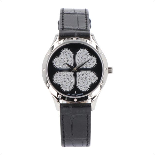 ジャックルマン JACQUES LEMANS 腕時計 1-1803E ローマ クローバー 32mm レディース クォーツ レザーベルト