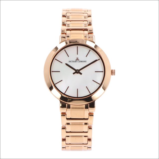 ジャックルマン JACQUES LEMANS 腕時計 1-1824E ミラノ 32mm レディース クォーツ メタルベルト