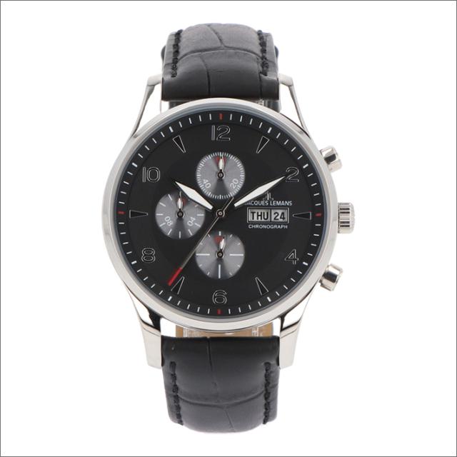 ジャックルマン JACQUES LEMANS 腕時計 1-1908A ロンドン 40mm メンズ クォーツ レザーベルト