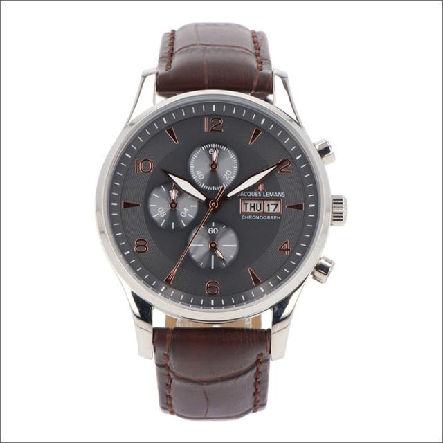 ジャックルマン JACQUES LEMANS 腕時計 1-1908B ロンドン 40mm メンズ クォーツ レザーベルト