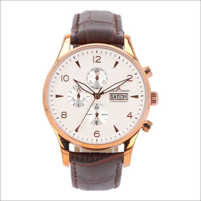 ジャックルマン JACQUES LEMANS 腕時計 1-1908C ロンドン 40mm メンズ クォーツ レザーベルト