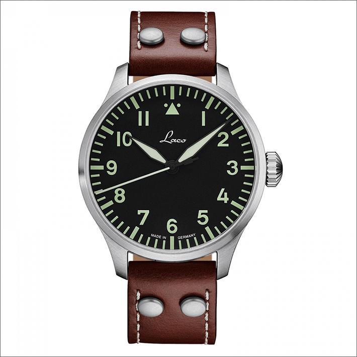 Laco ラコ 腕時計 861688.2 PILOT Augsburg 42 アウクスブルク 42 機械式自動巻 レザーベルト