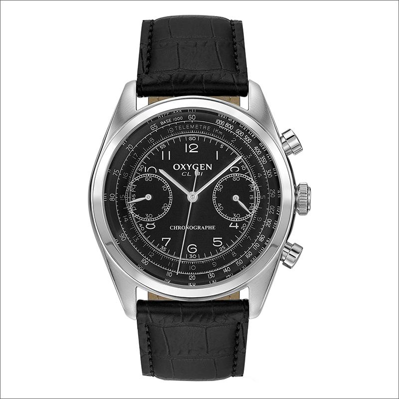 オキシゲン OXYGEN 腕時計 クロノレジェンド 41 AYRTON L-CH-AYR-41 (224320) レザーベルト