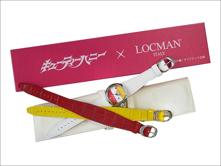 ロックマン LOCMAN 腕時計 永井豪/ダイナミック企画 キューティーハニー 限定コラボモデル