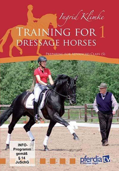 イングリッド・クリムケの馬場馬術馬のためのトレーニング−1(基本篇) DVD