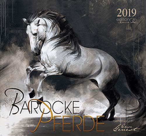 BOISELLE カレンダー2019 Lサイズ Baroque Horses(バロックホース)