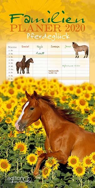 BOISELLE カレンダー2020 ファミリー Pferdegluck (フェアデグルック)