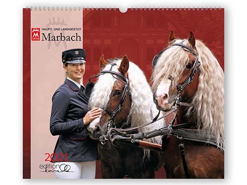 BOISELLE カレンダー2021 Mサイズ Marbach (マールバッハ)