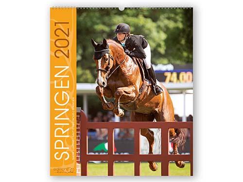 BOISELLE カレンダー2021 Sports Show Jumping (ショージャンピング)