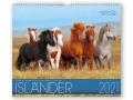 BOISELLE カレンダー2021 Mサイズ Island(アイスランド)