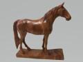カービングホース(木彫りの馬)
