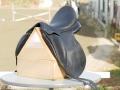 【中古馬具・乗馬用品No.360】CHILDERIC(シルデリック) DNLモデル 17.5インチ 馬場鞍