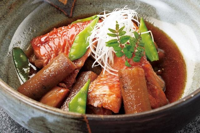 金目鯛ごぼう煮