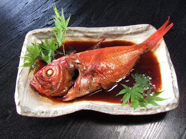 <大>金目鯛の姿煮(煮込済)