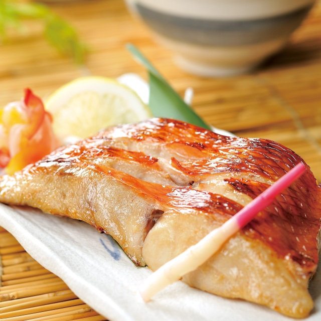 生塩糀仕立て金目鯛西京焼 2切