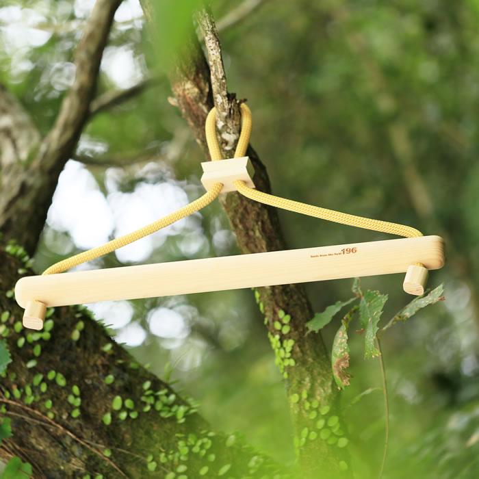 ハンガー 木製 キャンプ アウトドア 服 ウェア アウター トップス おしゃれ