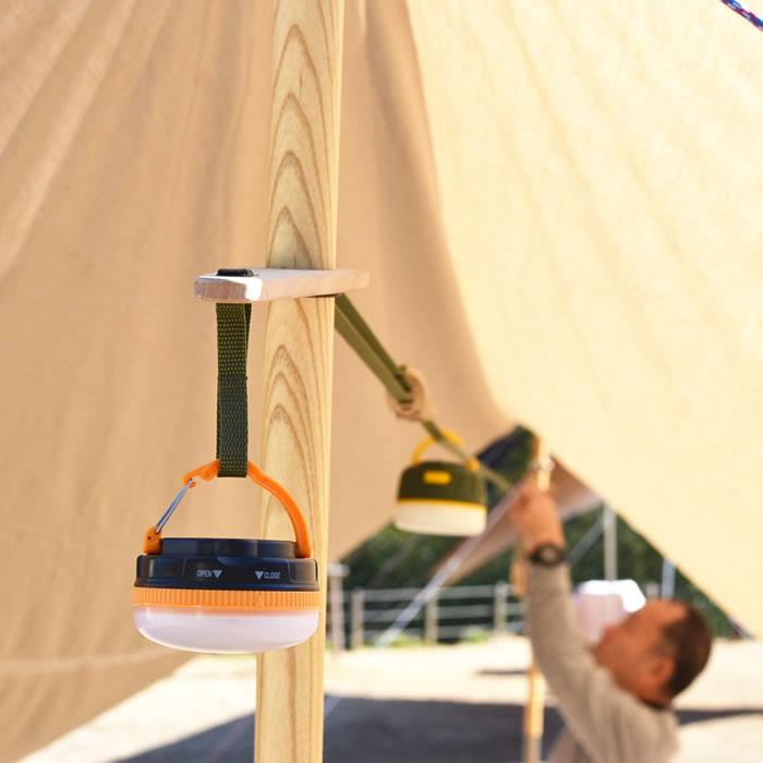 キャンプ ランタン ハンガー フック ハンギングベルト デイジーチェーン 吊る 吊るす 掛ける