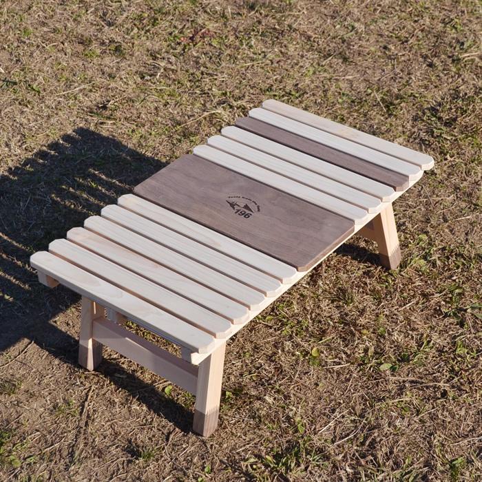 ソロキャンプ 折りたたみ 軽量 ウッドテーブル キャンプ テーブル 木製