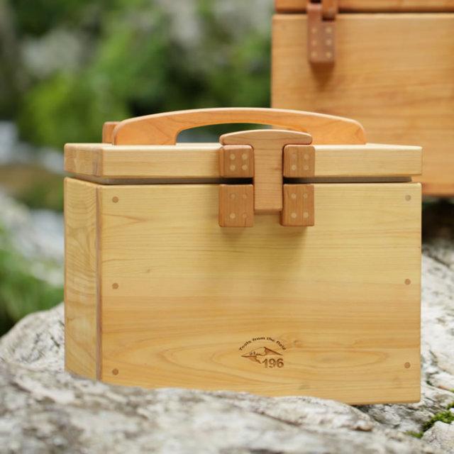 キャンプ クーラー クーラーボックス 木製 ウッド オリジナル おしゃれ 個性的