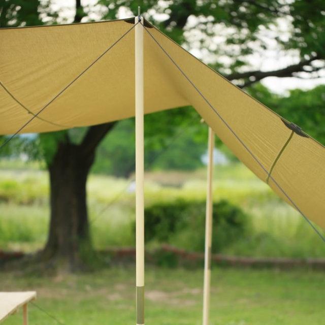 ウッドポール テント タープ キャンプ