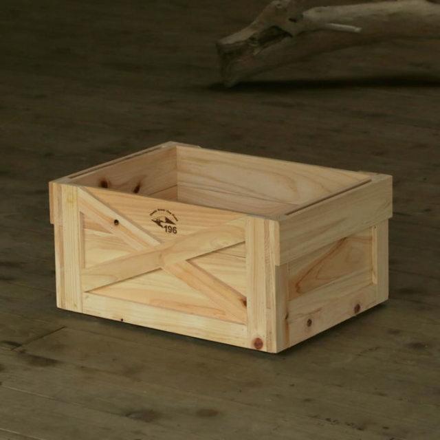 キャンプ道具 キャンプ用品 収納 コンテナ マルチ ウッドボックス 木製 整理整頓