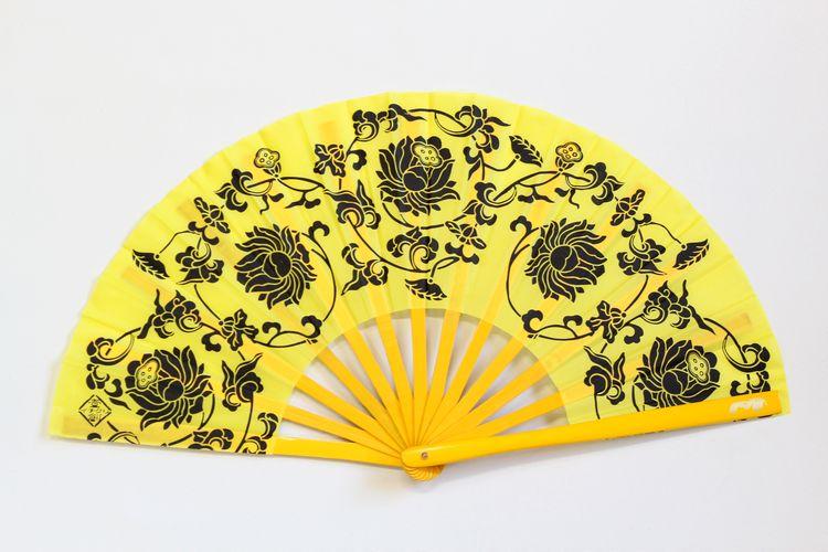 蓮花功夫扇黄