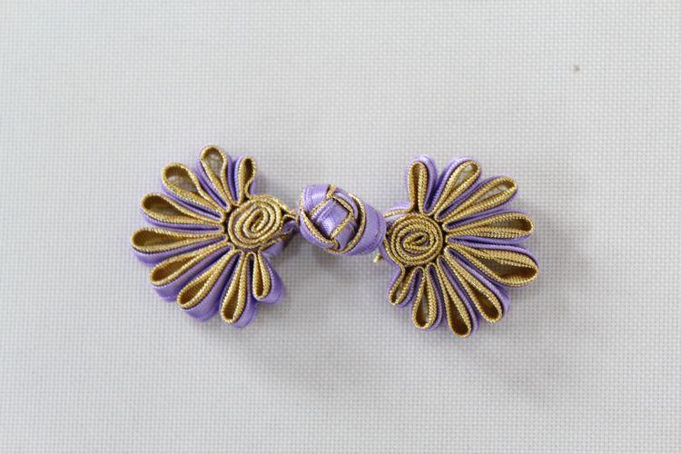 チャイナボタン菊花うす紫