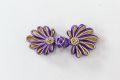 チャイナボタン菊花濃紫