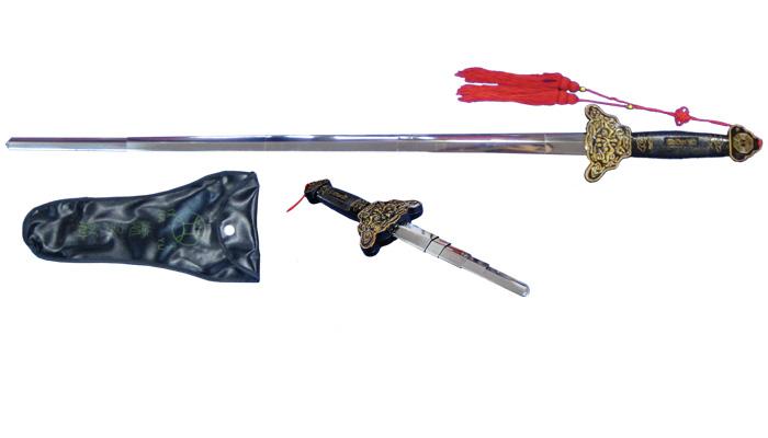 伸縮剣 イチクリ袋 太極拳 太極拳用品 太極拳グッズ 武術 カンフー DVD VCD