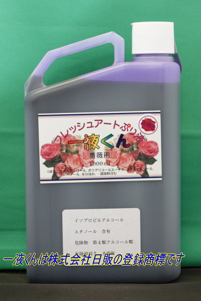 薔薇用一液くん:京紫色